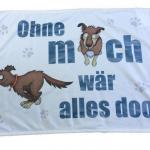 Illustration für eine Hundedecke