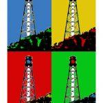 Leuchtturm Campen 4er