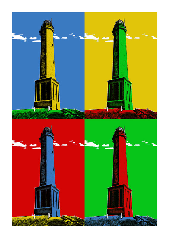 Leuchtturm Norderney 4er