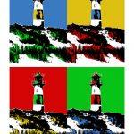 Leuchtturm Sylt / List Ost 4er