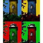 Leuchtturm Roter Kliff 4er