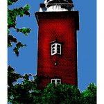 Leuchtturm Roter Kliff