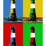 Leuchtturm Arngast 4er