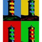 Leuchtturm Pilsum 4er