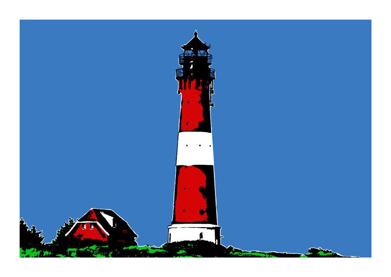 Leuchtturm Sylt Hornum