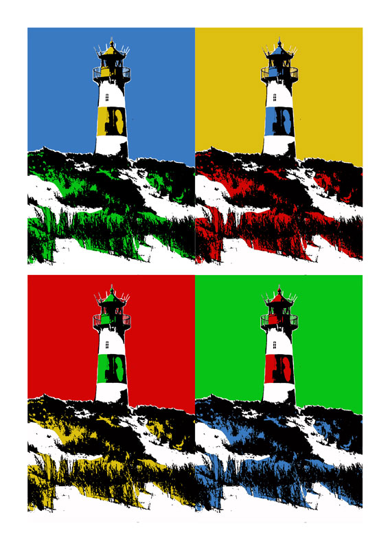 Leuchtturm Sylt / List Ost 4eer