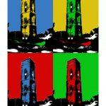 Leuchtturm Borkum (Alt) 4er