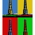 Leuchtturm Borkum (neu) 4er