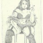 Dicke Dame (Radierung)