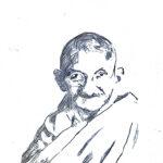 Gandhi einzeln