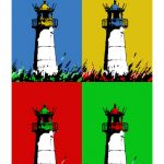 Leuchtturm Sylt / List West 4er
