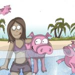 schwimmende-Schweine