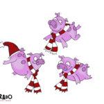 18 Schweine