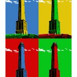 Leuchtturm-Norderney 4er